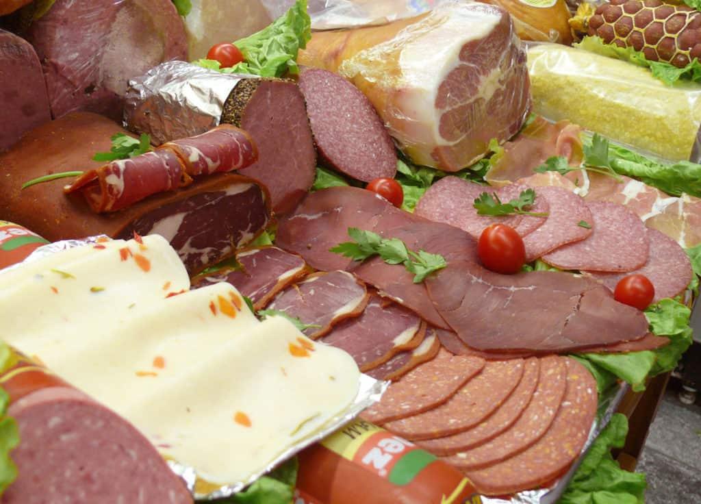 deli meat counter