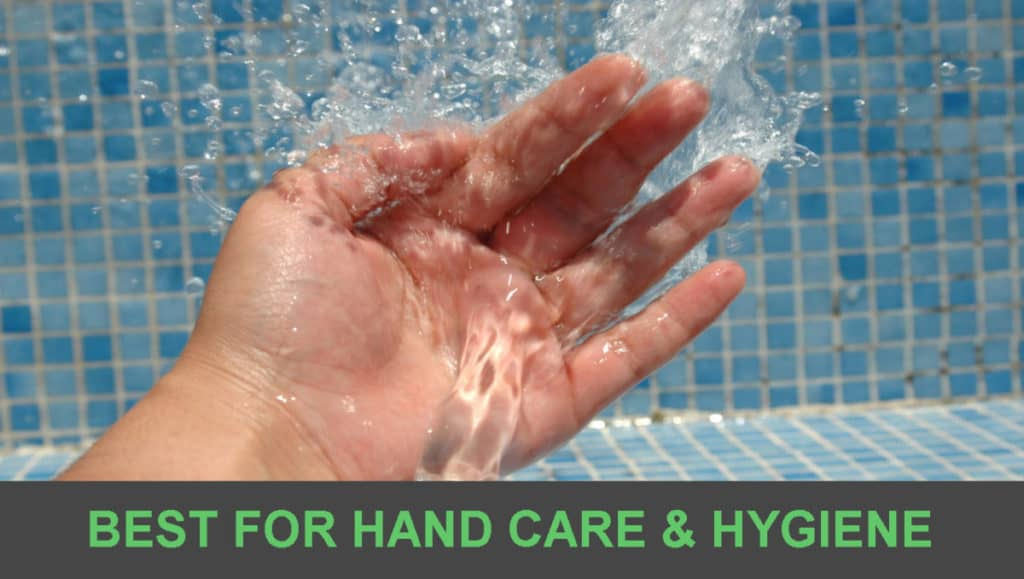 best for hand care and hygiene