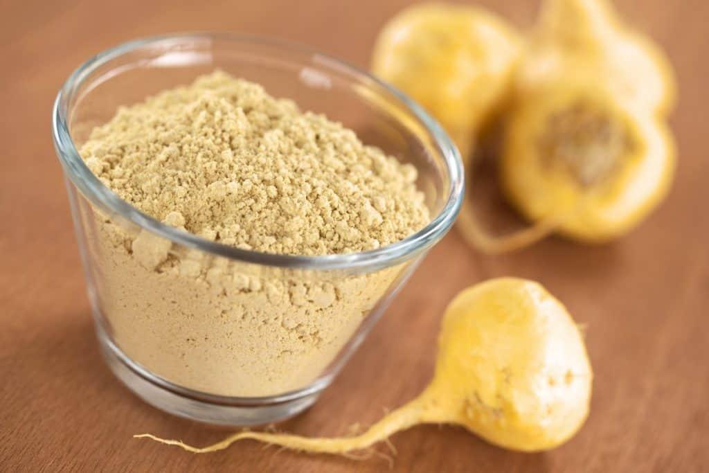 maca flour and maca roots