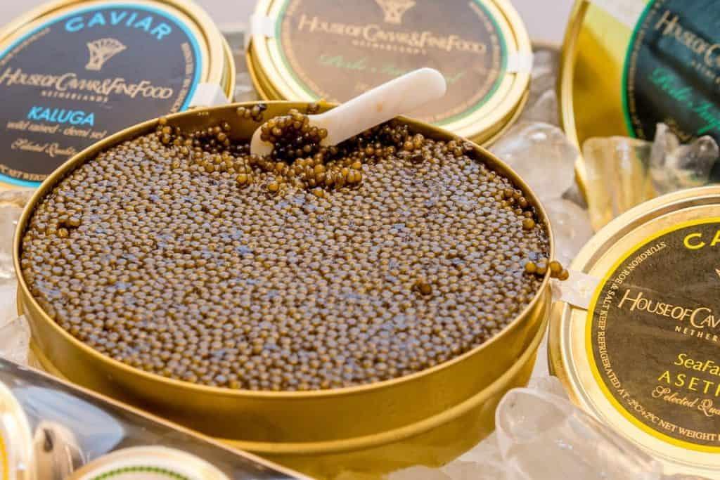 canned caviar