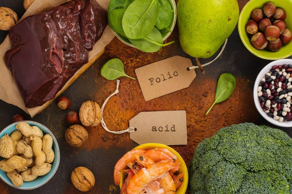foods that are sources of folic acid