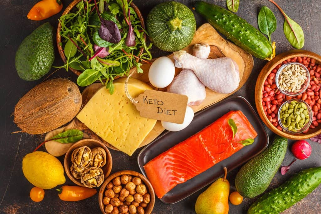 balanced low-carb foods for keto diet